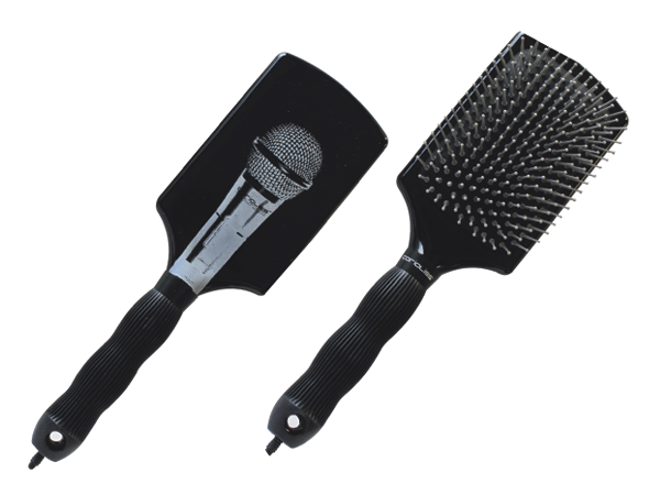 Microphone Paddle Brush: Black
